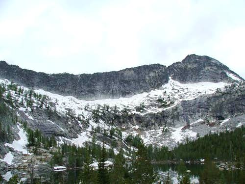 Canyon Peak/High Lake
