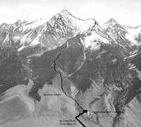 Borah Peak -- Southwest Ridge...