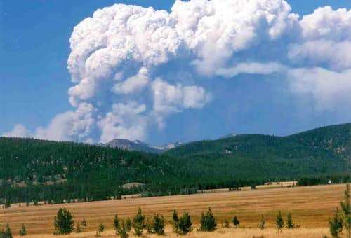 Salmon River Mtns Fire