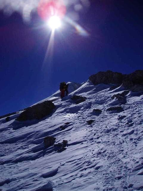 Summit day - climbers...