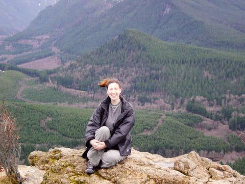 Dr. Brandee on summit of...