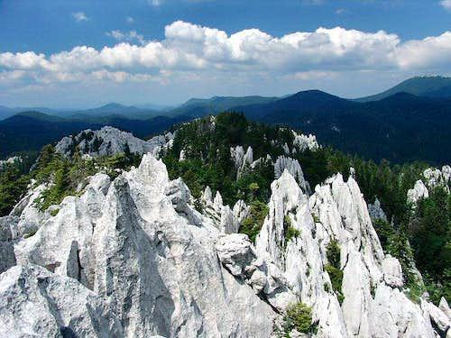 Bijele stijene (White Rocks) in Velika Kapela