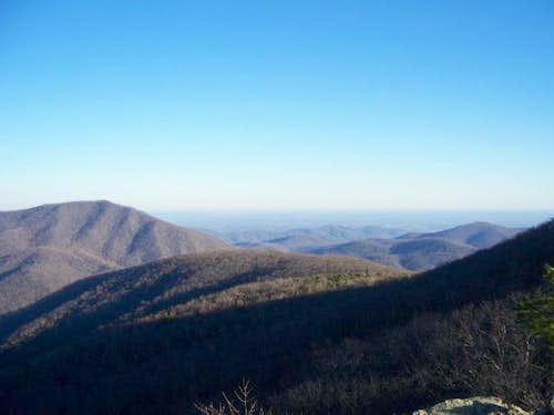 View from Bearfence Rocks...