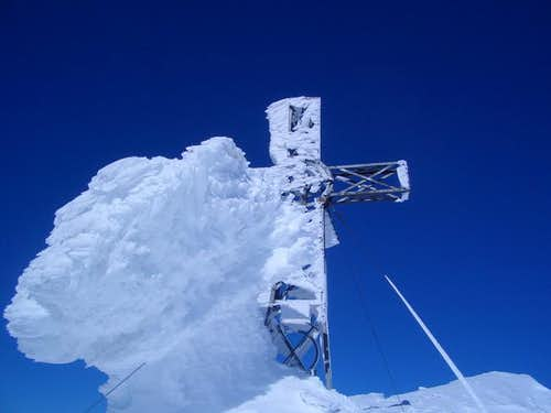 february 2006 cross on the top