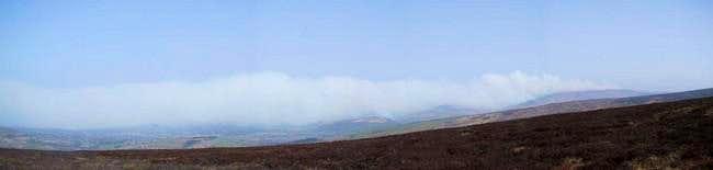 Smoke from Bleaklow heading...