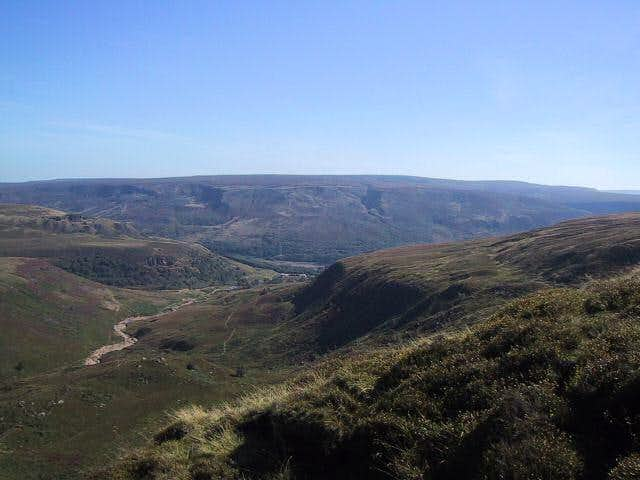 Bleaklow plateau in the...