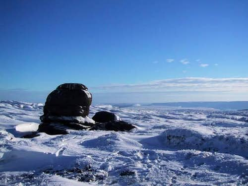 Wain Stones, looking south...