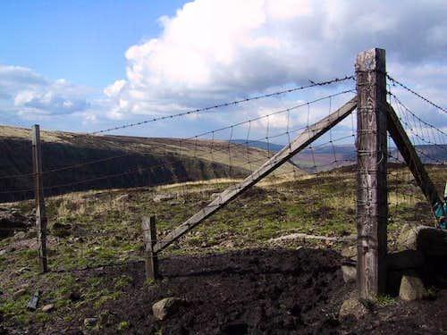 Fence erosion