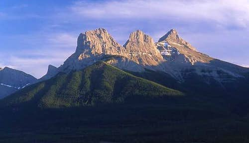The Three Sisters (Canmore,...