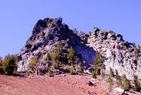 Union Peak's monolith.
