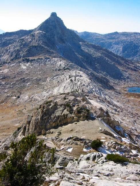 Finger Peaks and Burro Pass...