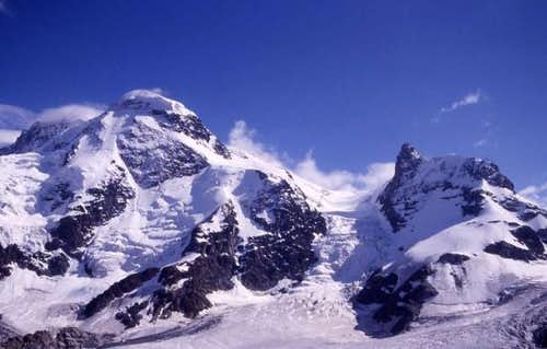 Breithorn and Kleines...