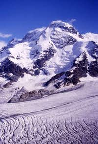 The N-face of the Breithorn...