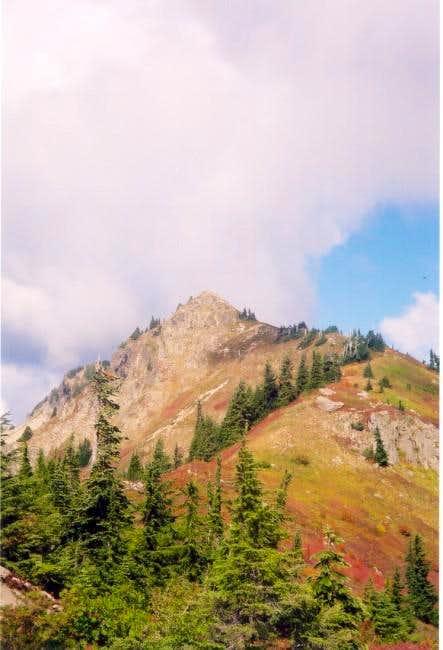 Alta Mountian in October.