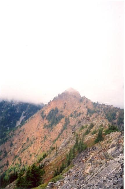 Red Mountain seen from the...