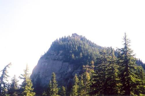 The summit of Tinkham seen...