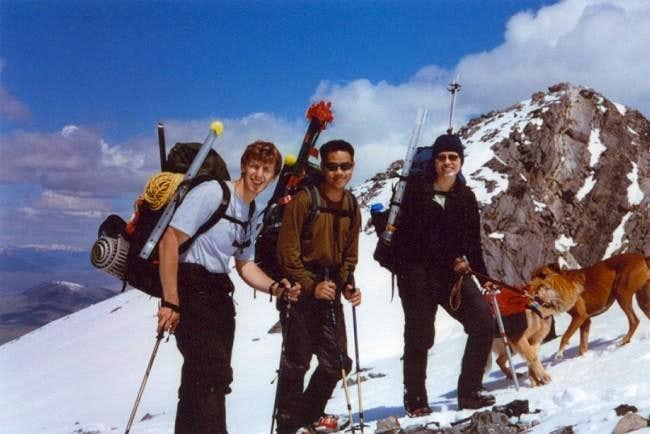 Borah Climb Photo