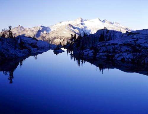 Mt. Daniel from Robin Lake....