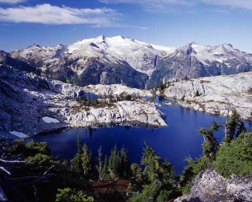 Mt. Daniel & Robin Lake....