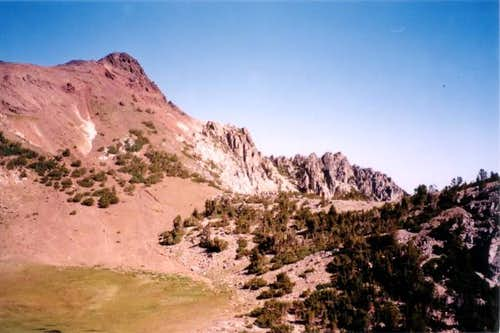 Sawtooth Peak from southeast...