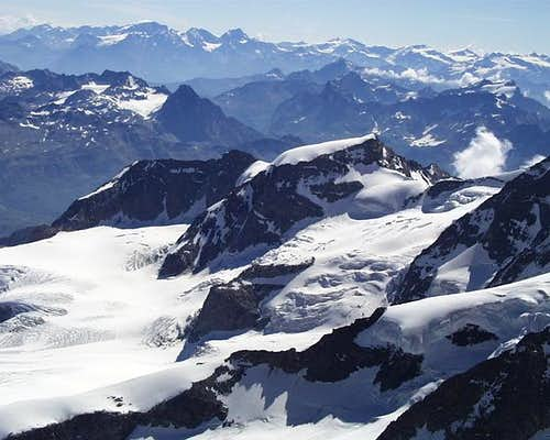 Piz Cambrena from summit of...