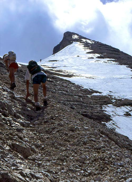On the north-west ridge of...