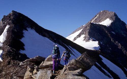 NE ridge (normal route)