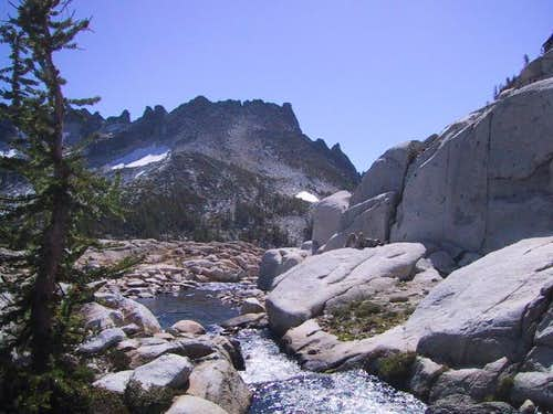 McClellan Peak from near the...