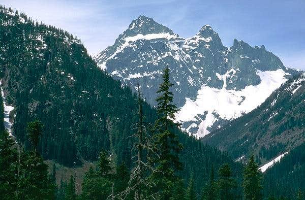 Closeup of Black Peak from...