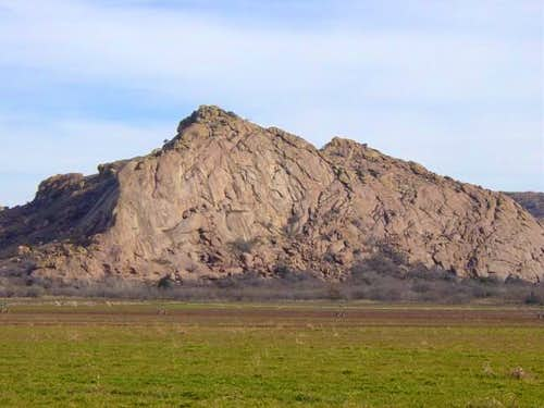 Quartz Mountain from the...