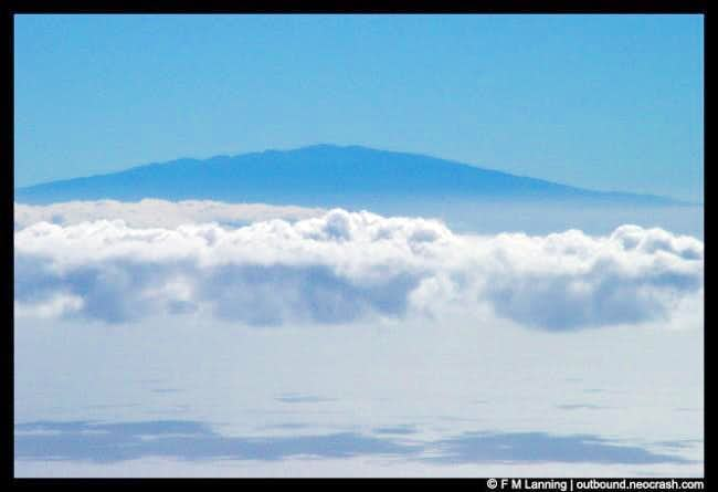 Mauna Kea seen from the top...