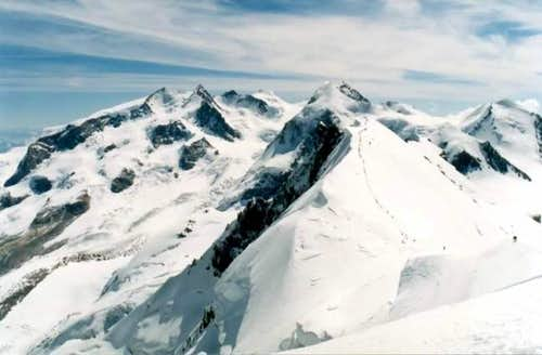 Monte Rosa Massif from...
