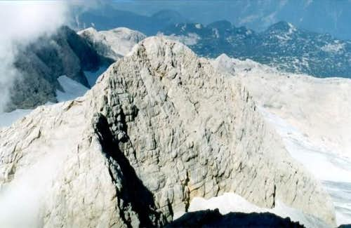 The view from Hoher Dachstein...