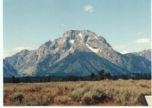Mt. Moran from the east....
