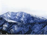 Mt Baldy from Blue ridge. Dec...