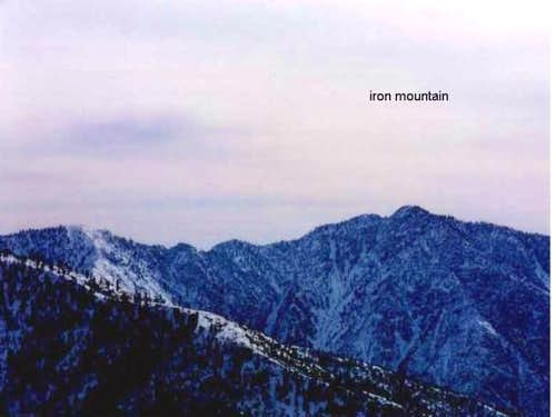 Iron Mountain from Blue...
