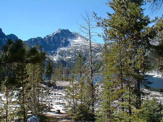 Snow Lake view of