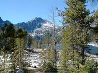 Snow Lake view of