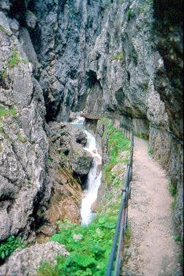 The Hoellental Gorge