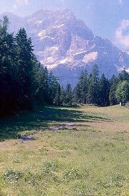 Zugspitze West Face