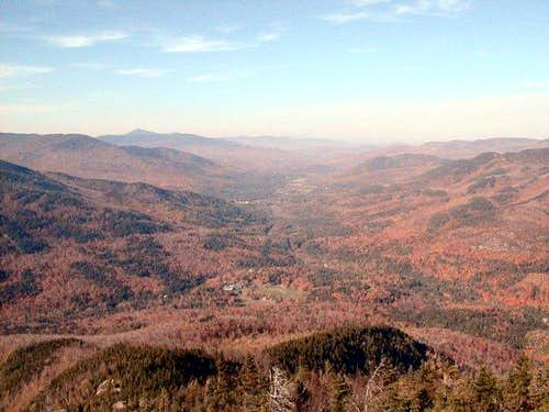 View of the Keene Valley on a...