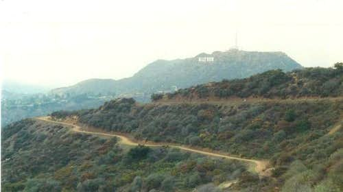 A View Of The Hollywood Sign...