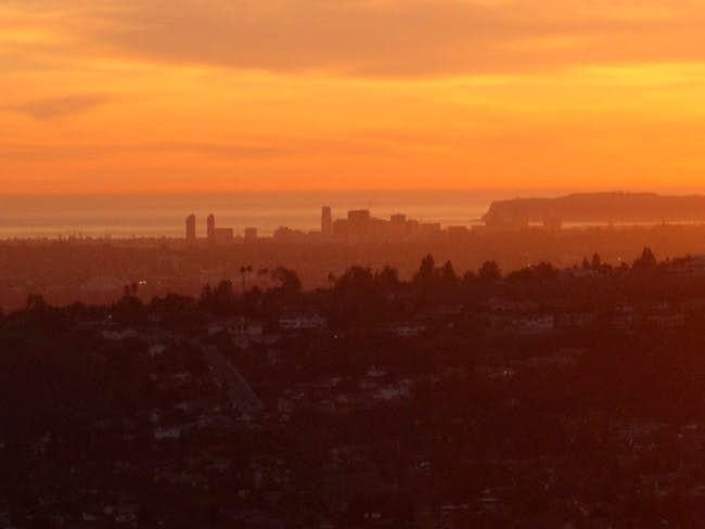 Downtown San Diego from Cowles