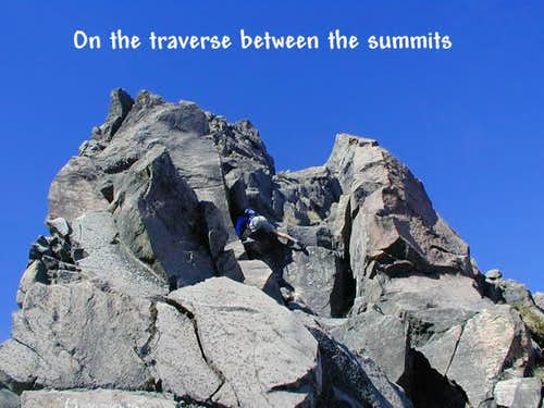 The traverse between the two...