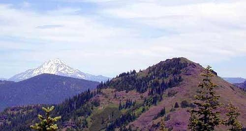 Mount Jefferson and Cone Peak...