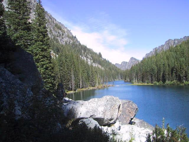 Nada Lake is a good area to...