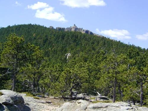 Harney Peak from the northern...