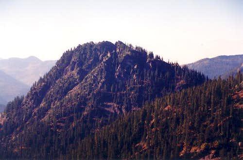 Guye Peak as seen from Red...
