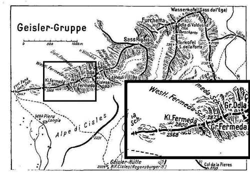 The w-part of the Geislergruppe