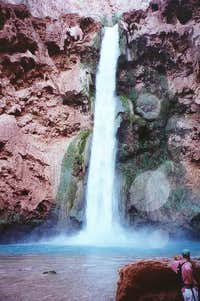 190-foot Mooney Falls,...
